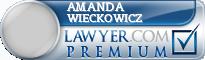 Amanda L. Wieckowicz  Lawyer Badge