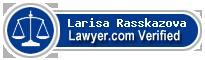 Larisa Rasskazova  Lawyer Badge