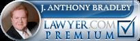 J. Anthony Bradley  Lawyer Badge