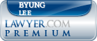 Byung Min Lee  Lawyer Badge