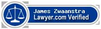James E Zwaanstra  Lawyer Badge