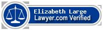 Elizabeth Morley Large  Lawyer Badge