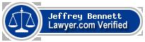 Jeffrey J. Bennett  Lawyer Badge