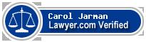 Carol Tippi Jarman  Lawyer Badge