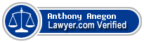 Anthony Christopher Anegon  Lawyer Badge