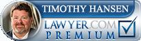 Timothy M. Hansen  Lawyer Badge