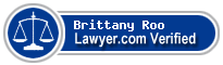 Brittany Van Roo  Lawyer Badge