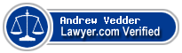 Andrew T. Vedder  Lawyer Badge