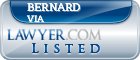 Bernard Via Lawyer Badge