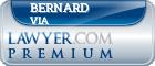 Bernard Starr Via  Lawyer Badge