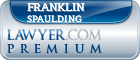 Franklin Eleazar Spaulding  Lawyer Badge