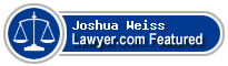 Joshua Weiss  Lawyer Badge