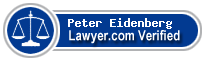 Peter D Eidenberg  Lawyer Badge