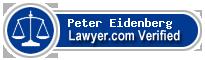 Peter D Eidenberg  Lawyer Badge