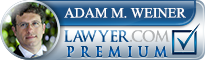 Adam M. Weiner  Lawyer Badge