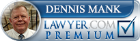Dennis J. Mank  Lawyer Badge