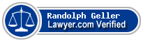 Randolph Geller  Lawyer Badge