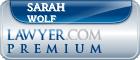 Sarah Margaret Wolf  Lawyer Badge