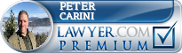 Peter Joseph Carini  Lawyer Badge