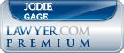 Jodie Lyn Gage  Lawyer Badge