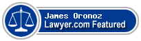 James A. Oronoz  Lawyer Badge