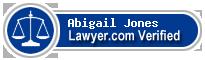 Abigail Jones  Lawyer Badge