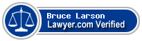 Bruce A. Larson  Lawyer Badge