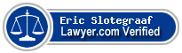 Eric Paul Slotegraaf  Lawyer Badge