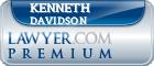 Kenneth Eugene Davidson  Lawyer Badge