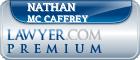 Nathan Andrew Mc Caffrey  Lawyer Badge