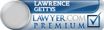 Lawrence Gerard Gettys  Lawyer Badge