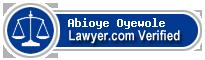 Abioye Ella Oyewole  Lawyer Badge
