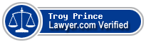 Troy Shannon Prince  Lawyer Badge