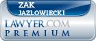 Zak Andrew Jazlowiecki  Lawyer Badge