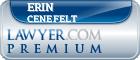 Erin C. Cenefelt  Lawyer Badge