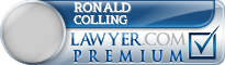 Ronald E. Colling  Lawyer Badge