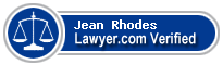 Jean Rhodes  Lawyer Badge