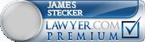 James C. Stecker  Lawyer Badge