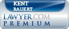 Kent E. Rauert  Lawyer Badge