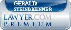Gerald W. Steinbrenner  Lawyer Badge