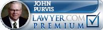 John Anderson Purvis  Lawyer Badge