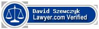 David F. Szewczyk  Lawyer Badge