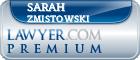 Sarah Slosser Zmistowski  Lawyer Badge