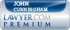 John A. Cunningham  Lawyer Badge