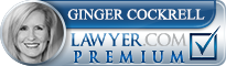 Ginger Dickerson Cockrell  Lawyer Badge