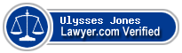 Ulysses Samuel Jones  Lawyer Badge