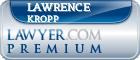 Lawrence P. Kropp  Lawyer Badge