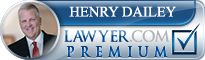 Henry Clyde Dailey  Lawyer Badge