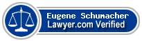 Eugene G. Schumacher  Lawyer Badge