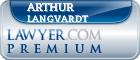 Arthur R. Langvardt  Lawyer Badge